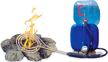Zodi Fire Coil Camp Water Heater