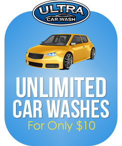 Unlimited Car Washes for Only $14.99 at Ultra Car Wash