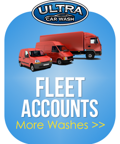 Have your entire car fleet cleaned with Ultra Car Wash