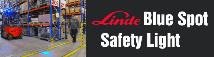 Linde Blue Spot Safety Light Header Image