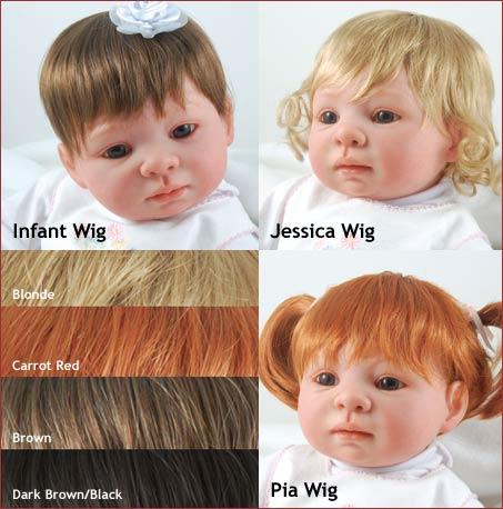 Baby Dollz Hair Wigs 87