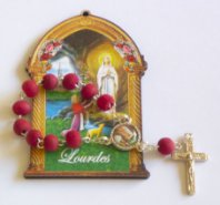 Rose Scented One Decade Rosary